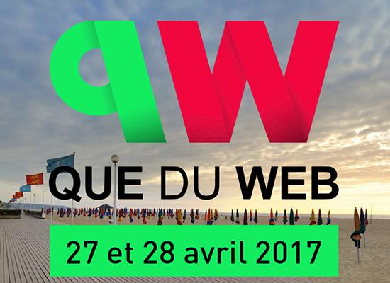 Conférences Que du Web, édition 2017