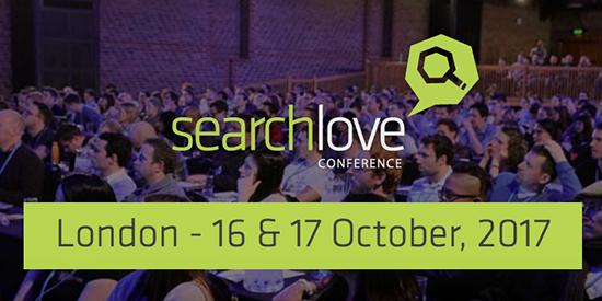 Searchlove 2017, conférences SEO à Londres